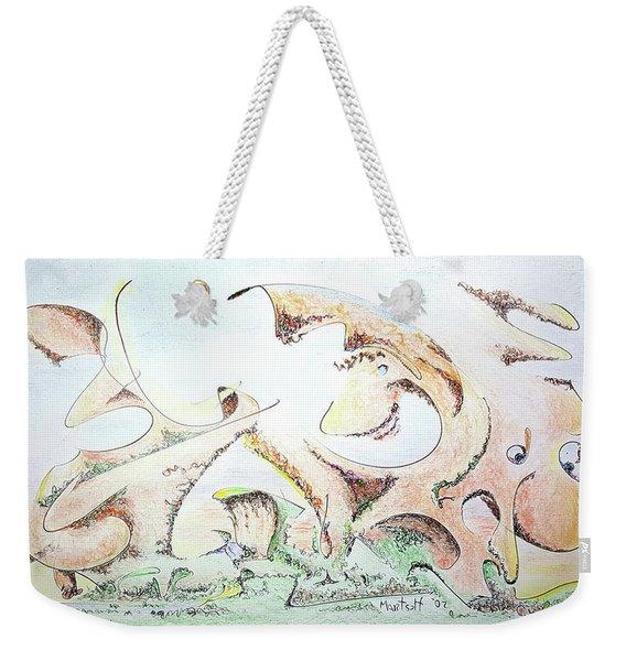 The Living Planet Weekender Tote Bag
