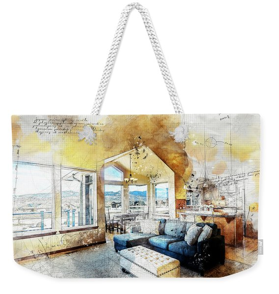 The Living Room Weekender Tote Bag