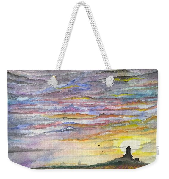 The Living Sky Weekender Tote Bag