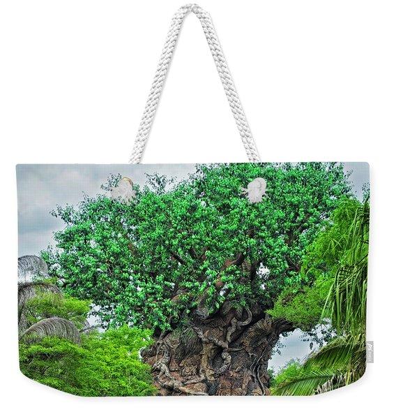 The Living Tree Walt Disney World Mp Weekender Tote Bag