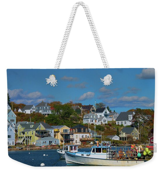 The Lobsterman's Shop Weekender Tote Bag
