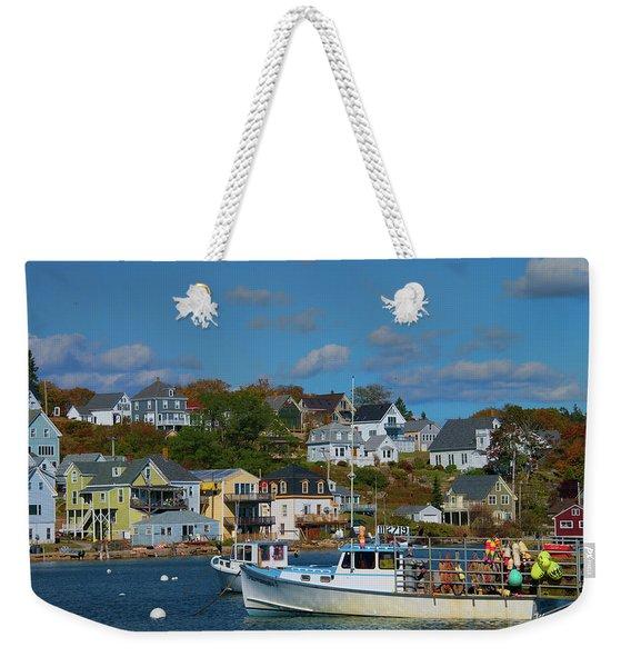The Lobsterman's Shop Weekender Tote Bag