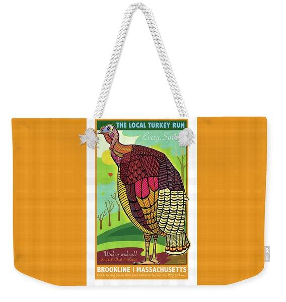 The Local Turkey Run Weekender Tote Bag