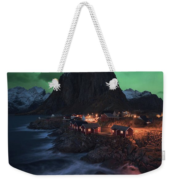 The Lofoten Dream Weekender Tote Bag