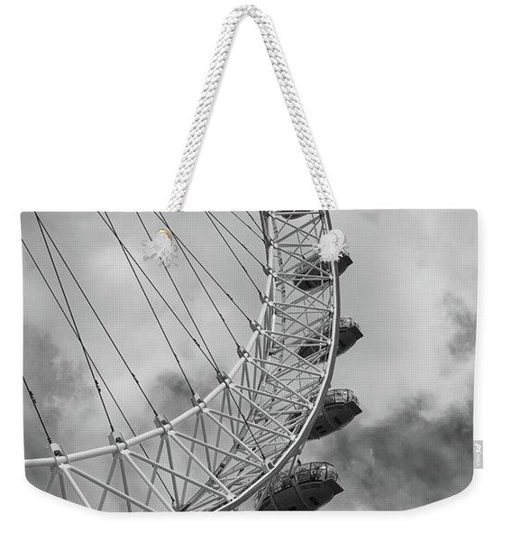 The London Eye, London, England Weekender Tote Bag