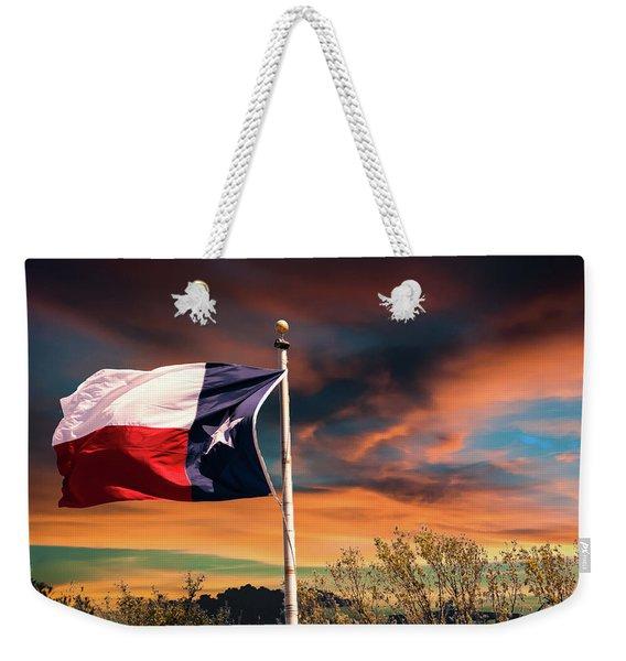 The Lone Star Flag Weekender Tote Bag