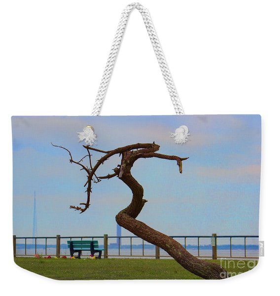 The Lone Tree Weekender Tote Bag