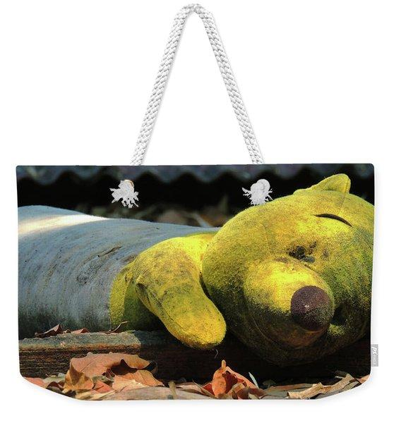 The Lonely Teddy Bear Weekender Tote Bag