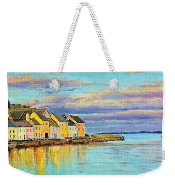 The Long Walk Galway Weekender Tote Bag