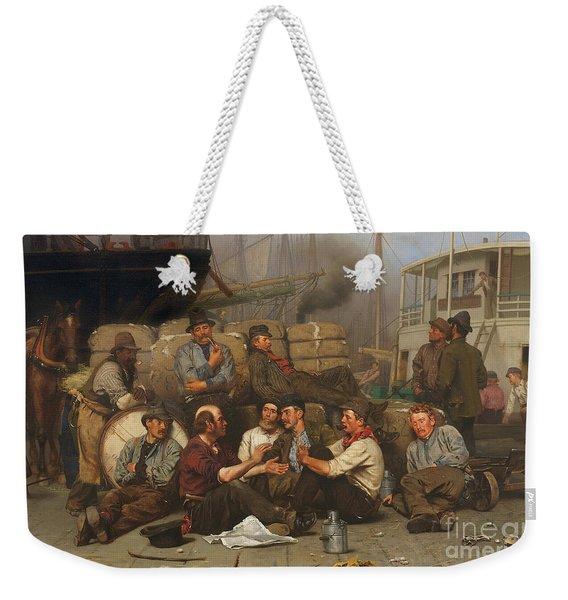 The Longshoremen's Noon Weekender Tote Bag