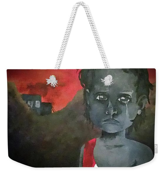 The Lost Children Of Aleppo Weekender Tote Bag