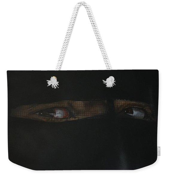 The Lovely Bride Hyphemas Portrait Weekender Tote Bag