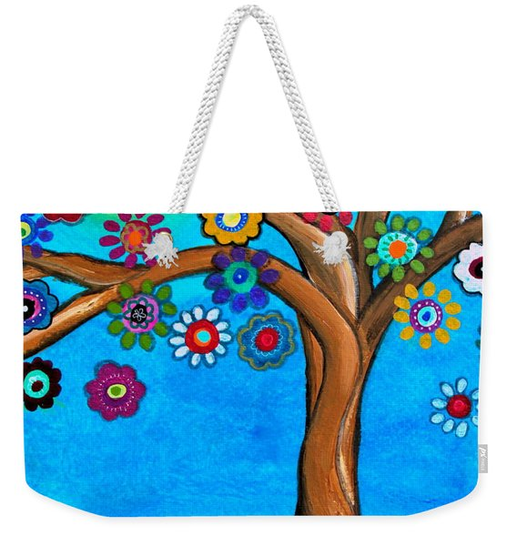 The Loving Tree Of Life Weekender Tote Bag