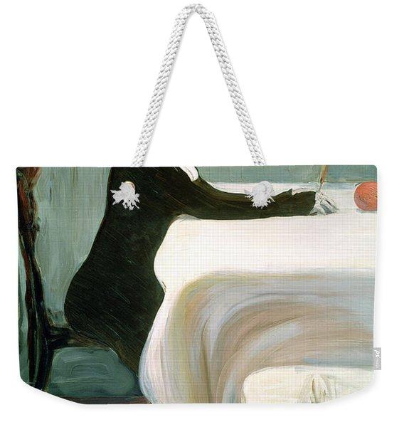 The Luncheon Weekender Tote Bag