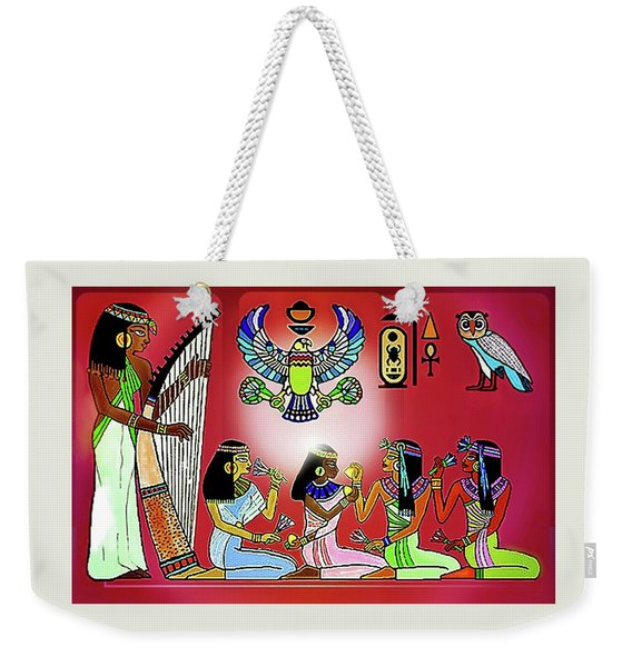 The  Lure Of Egypt Weekender Tote Bag