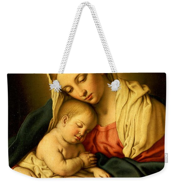 The Madonna And Child Weekender Tote Bag