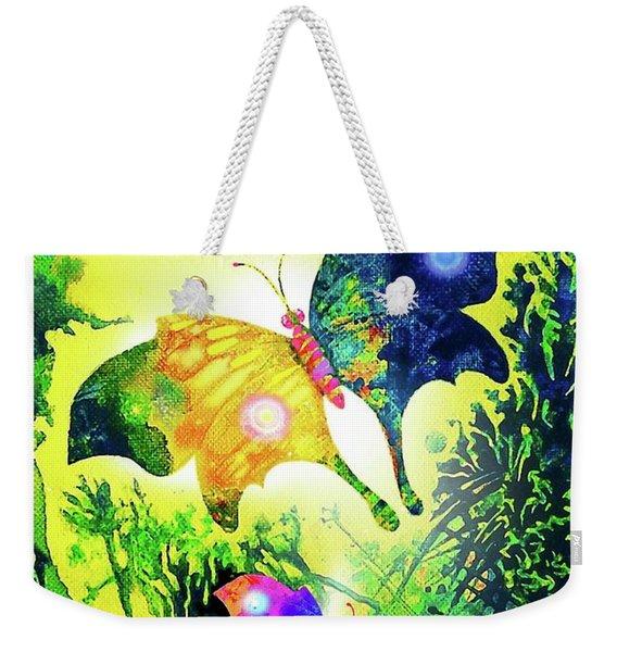 The Magic Of Butterflies Weekender Tote Bag