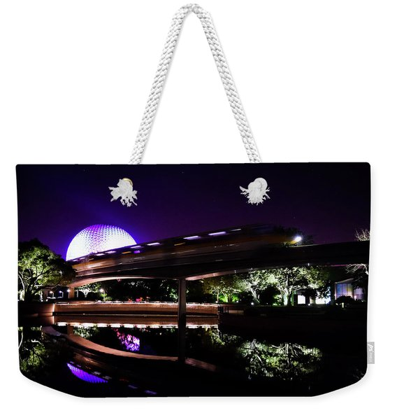 The Magic Of Epcot Weekender Tote Bag