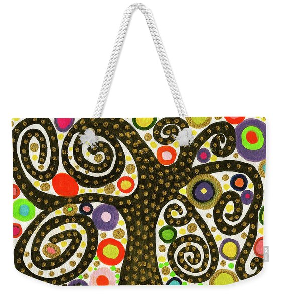 The Magical, Mystical Bubble Tree Weekender Tote Bag