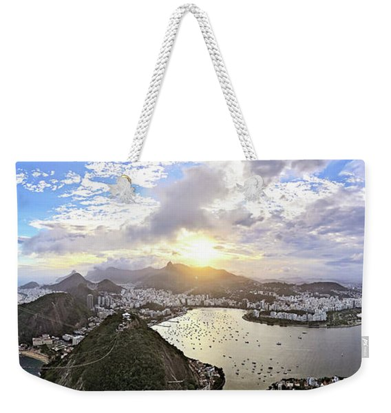 The Magnificent City Weekender Tote Bag
