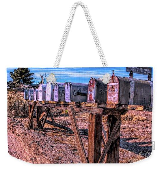 The Mailboxes Weekender Tote Bag
