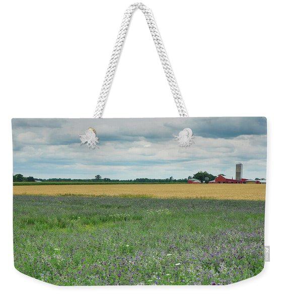 Farming Landscape Weekender Tote Bag