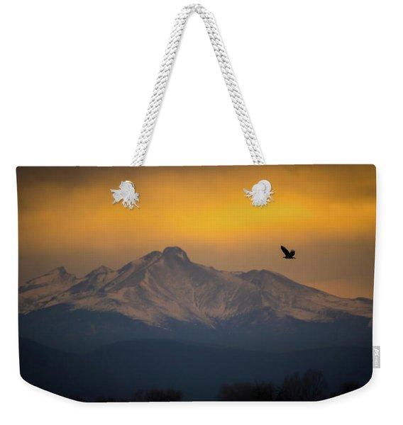 The Majestic Bald Eagle Weekender Tote Bag