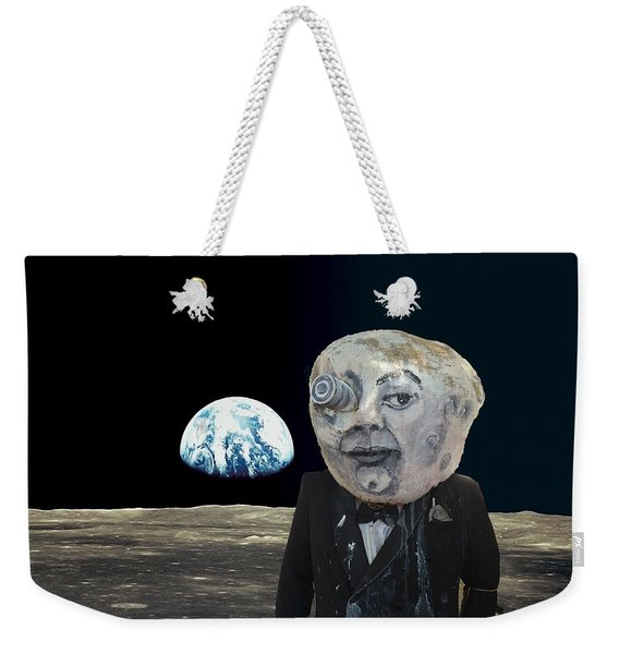 The Man In The Moon Weekender Tote Bag