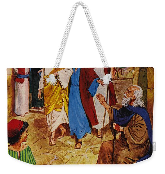 The Man Who Could Not See Weekender Tote Bag