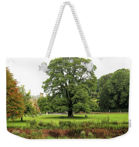 Weekender Tote Bag featuring the photograph The Manor Castle Combe by Michael Hope