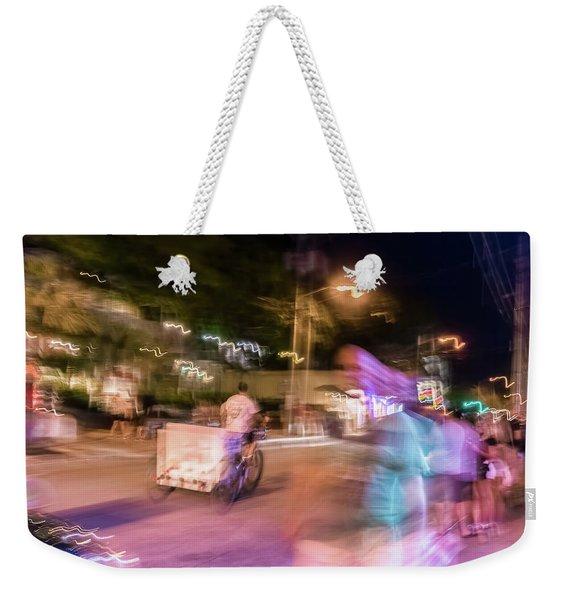 The Many Moods Of Duval Street Weekender Tote Bag