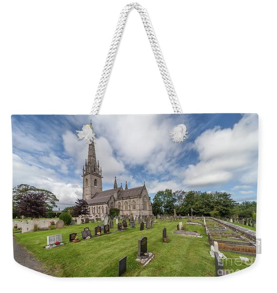 The Marble Church Weekender Tote Bag