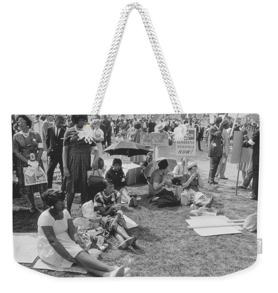 The March On Washington   At Washington Monument Grounds Weekender Tote Bag