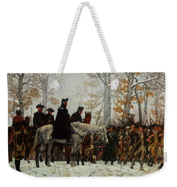 The March To Valley Forge, Dec 19, 1777 Weekender Tote Bag