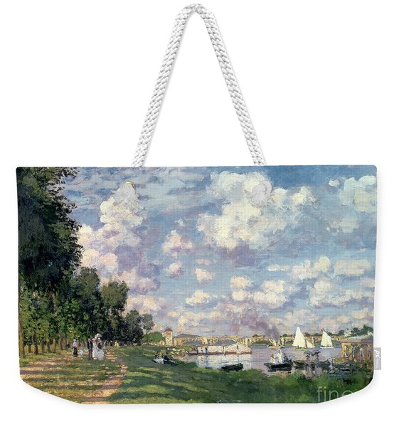 The Marina At Argenteuil Weekender Tote Bag