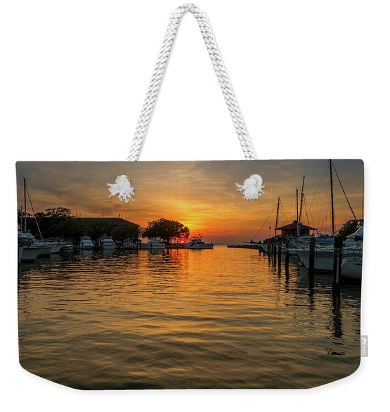 The Marina Weekender Tote Bag
