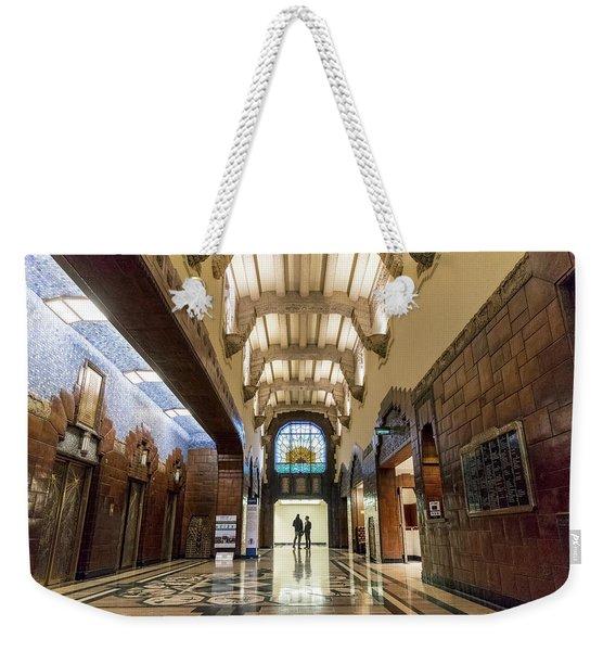 The Marine Building Weekender Tote Bag