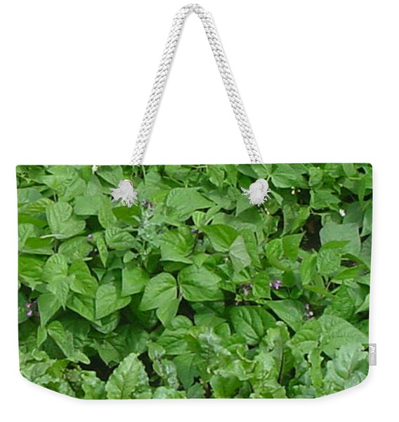 The Market Garden Portrait Weekender Tote Bag