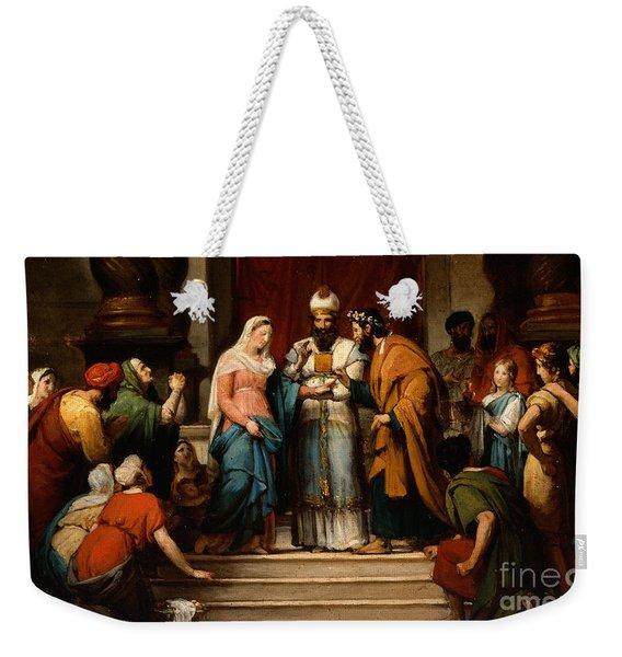 The Marriage Of The Virgin Weekender Tote Bag