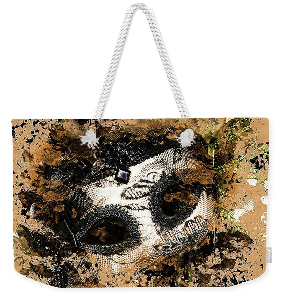 The Mask Of Fiction Weekender Tote Bag