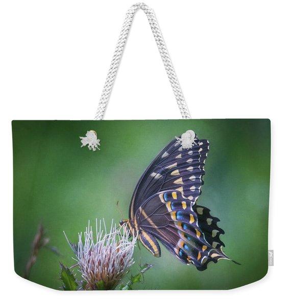 The Mattamuskeet Butterfly Weekender Tote Bag