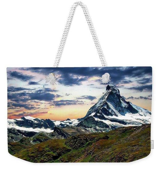 The Matterhorn Weekender Tote Bag