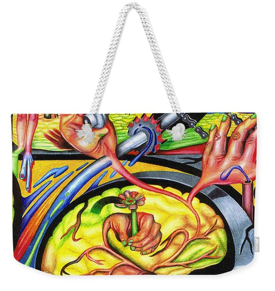 The Mechanics Of Consciousness Weekender Tote Bag