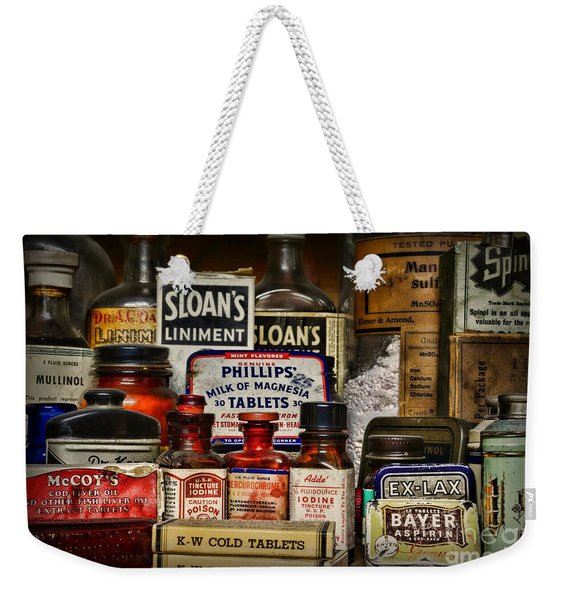 The Medicine Shelf Weekender Tote Bag