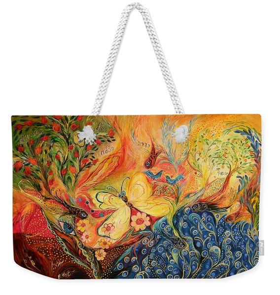 The Mediterranean Spring Weekender Tote Bag