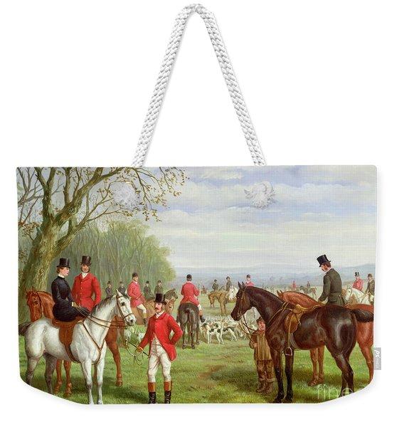 The Meet Weekender Tote Bag