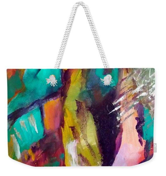The Meeting Weekender Tote Bag
