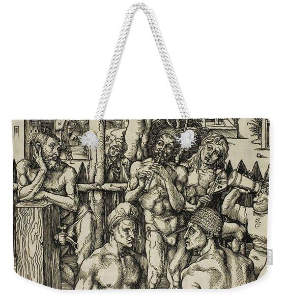The Men's Bath Weekender Tote Bag