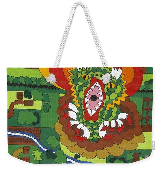 The Meridian Weekender Tote Bag