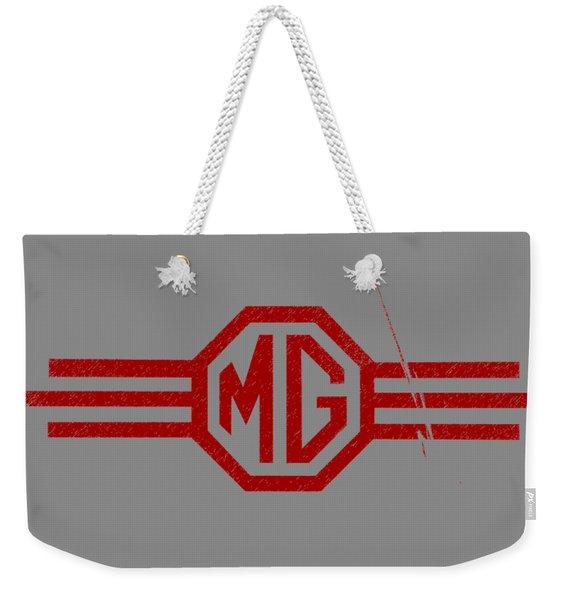 The Mg Sign Weekender Tote Bag